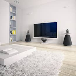 minimalistic Living room by Dmitriy Khanin