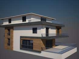 CANSEL BOZKURT  interior architect – cephe çalışmasından örnek: modern tarz Evler