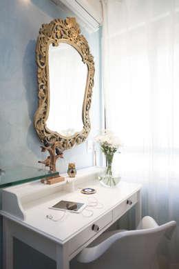 Projekty,  Sypialnia zaprojektowane przez POCHE ARQUITETURA