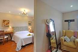 Suite: Dormitorios de estilo clásico por Opra Nova