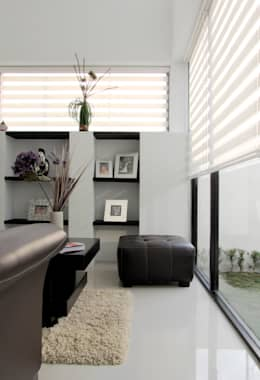 Salas / recibidores de estilo moderno por Estudio Meraki