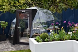 itv's Love Your Garden with Alan Titchmarsh: modern Garden by Solardome Industries Limited