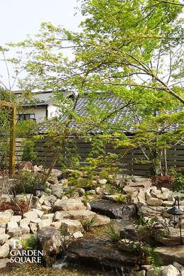 Jardines de estilo  por T's Garden Square Co.,Ltd.