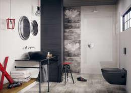 Ванные комнаты в . Автор – Ceramika Paradyż
