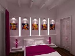 Appartement audi : Chambre d'enfant de style de style Moderne par michel bandaly