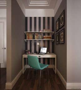 Oficinas de estilo  por KAPRANDESIGN