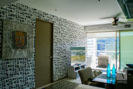 Ambientes con Arte : modern tarz Oturma Odası