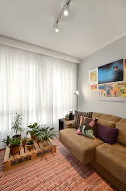 26 ideas para decorar una sala peque a for Como decorar una sala sencilla y bonita