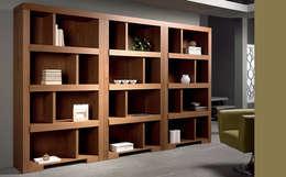 Proyectos: Vestíbulos, pasillos y escaleras de estilo  por Diseñería 72ocho10