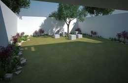 modern Garden by Axios Arquitectos