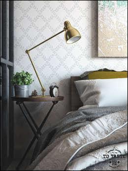 colonial Bedroom by ToTaste.studio