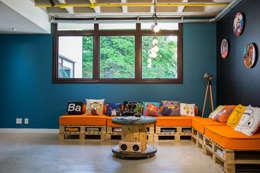 La Idea Arquitetura e Design의  서재 & 사무실