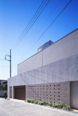 FACADE  | 百日紅の家 | RC造高級注文住宅: Mアーキテクツ|高級邸宅 豪邸 注文住宅 別荘建築 LUXURY HOUSES | M-architectsが手掛けた家です。
