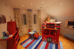 modern Nursery/kid's room by ELK Fertighaus GmbH