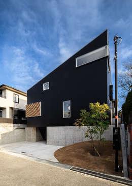 Projekty, skandynawskie Domy zaprojektowane przez 一級建築士事務所haus