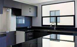 Vista Interior- Cocina: Cocinas de estilo moderno por Estudio Meraki