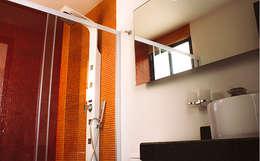 Vista Interior- Baño: Baños de estilo  por Estudio Meraki