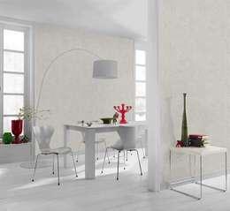 Papel Tapiz: Paredes y pisos de estilo minimalista por DeColor