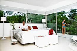 modern Bedroom by Enrique Cabrera Arquitecto
