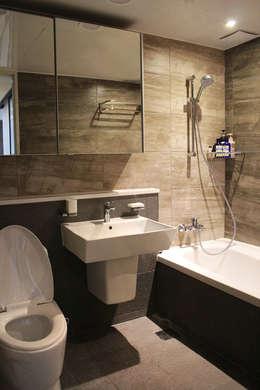 Projekty,  Łazienka zaprojektowane przez dip chroma
