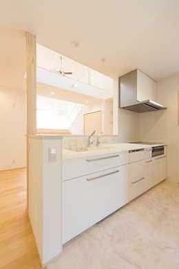 高取南の家: 株式会社かんくう建築デザインが手掛けたキッチンです。
