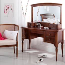 country Bedroom by CROWN FRENCH FURNITURE