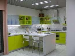 modern Kitchen by Fausti cucine arredamenti