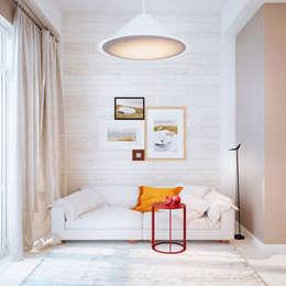 Дизайн интерьера объединенной квартиры в ЖК «Арабская ночь» (Алупка): Столовые комнаты в . Автор – ROMM