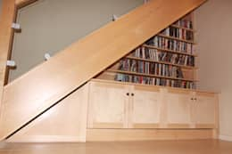 Stair Unit: modern Corridor, hallway & stairs by Worsley Woodworking