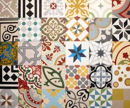 Work House Collection: eklektik tarz tarz Duvar & Zemin