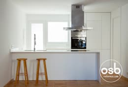 modern Kitchen by osb reformas