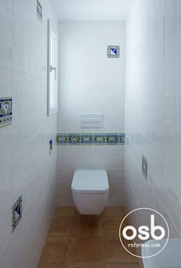 mediterranean Bathroom by osb reformas