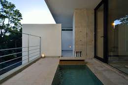 ห้องน้ำ by アトリエ環 建築設計事務所