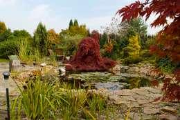 Jesień na wyspie: styl , w kategorii Ogród zaprojektowany przez Centrum ogrodnicze Ogrody ResGal