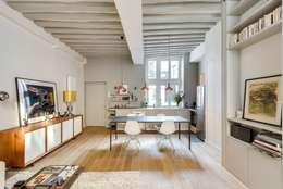 industrial Dining room by Meero