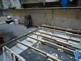 Aykuthall Architectural Interiors – Teras Önceki Hali:  tarz