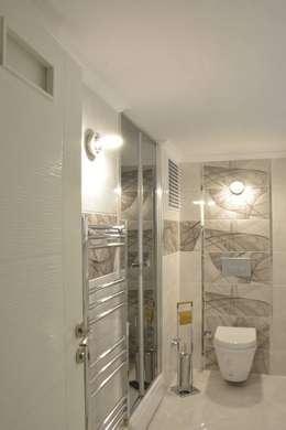 ACS Mimarlık – Narlıdere'de Yeni Bir Yaşam, İzmir: minimal tarz tarz Banyo
