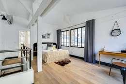 Projekty,  Sypialnia zaprojektowane przez Meero