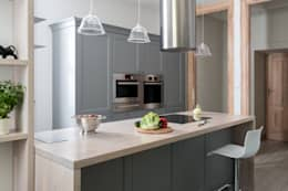 Apartament na Mokotowie: styl , w kategorii Kuchnia zaprojektowany przez Jacek Tryc-wnętrza