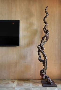 BC Arquitetos : modern tarz Oturma Odası