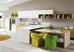 la cucina con penisola. per armonizzare la casa