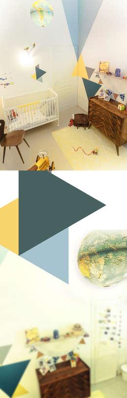 50's wood & graphic: Chambre d'enfant de style de style Scandinave par 0000