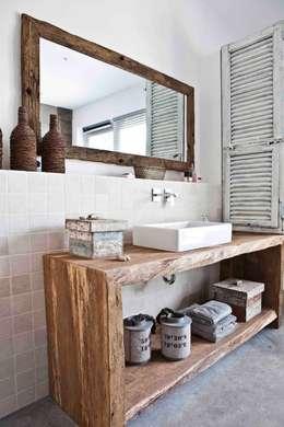 mediterranean Bathroom by raphaeldesign
