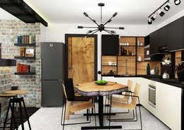 Креатив лофта: Кухни в . Автор – AbcDesign