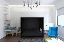 minimalistische Schlafzimmer von Nox
