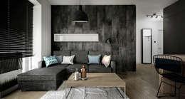 Wiktoria Ginter - architektura wnętrz: modern tarz Oturma Odası
