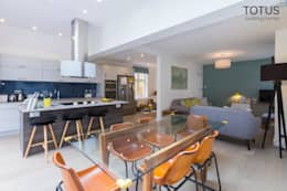 New life for a 1920s home - extension and full renovation, Thames Ditton, Surrey: modern Kitchen by TOTUS