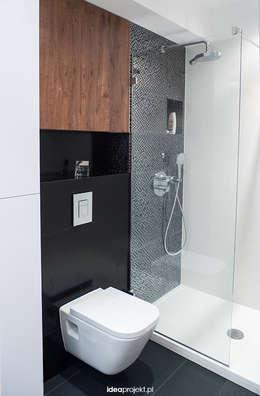 WC dla brodacza: styl , w kategorii Łazienka zaprojektowany przez idea projekt