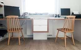 Oficinas de estilo escandinavo por idea projekt