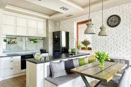 KUCHNIA SKANDYNAWSKO, KLASYCZNIE I INDUSTRIALNIE: styl , w kategorii Kuchnia zaprojektowany przez ZEN Interiors - Architektura Wnętrz
